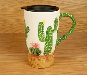 Geneva Cactus Travel Mug