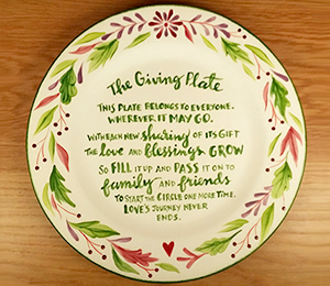 Geneva The Giving Plate