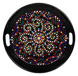 Geneva Mosaic Mandala Tray