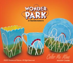 Geneva WonderPark Roller Coaster