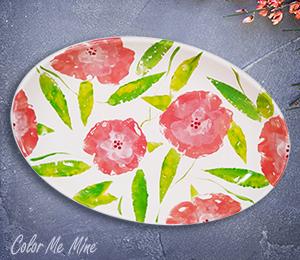 Geneva Floral Paper Stamping