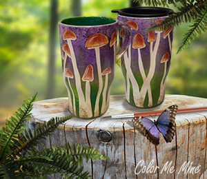 Geneva Mushroom Mugs