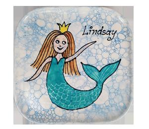 Geneva Mermaid Plate
