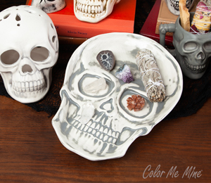 Geneva Vintage Skull Plate