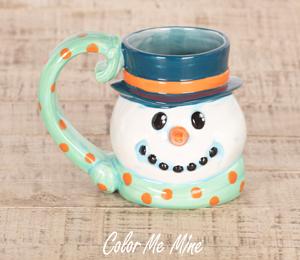 Geneva Snowman Mug