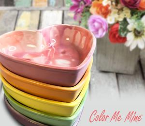 Geneva Candy Heart Bowls