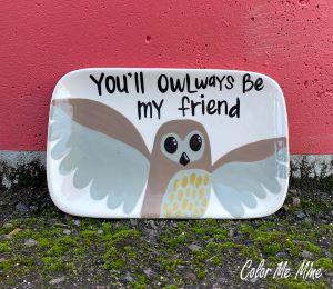 Geneva Owl Plate