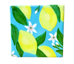 Geneva Lemon Square Tile