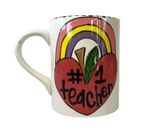 Geneva Rainbow Apple Mug