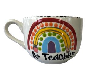 Geneva Polka Dot Rainbow Mug